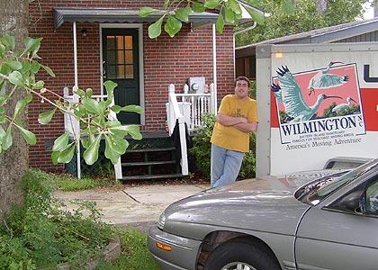 Leaving Wilmington, NC